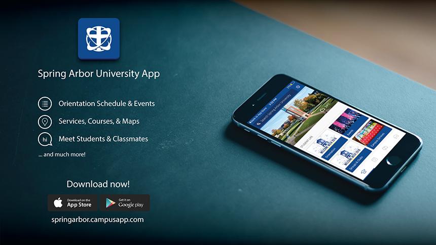 Spring Arbor University Campus Map.Sau App Centralizes Information The Pulse